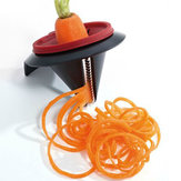 Vegetable Spiral Slicer Peeler Funnel Model Veggetti Peeler Kitchen Gadget Cooking Tool