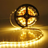 2X 5M 300 SMD3528 Warm White Flexible LED Strip Non-Waterproof 12V