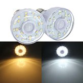 E27 2W 23 SMD 3528 Pure/Warm White PIR Motion Sensor LED Light Lamp Bulb
