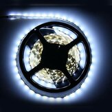 5M icke-vattentät Cool White 3528 SMD 300 LED Strip Light DC12V för DIY Indoor Home Car