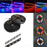 5M WS2812B 5050 RGB no impermeable 300 LED Strip Light Dream Color que cambia individualmente direccionable DC 5V
