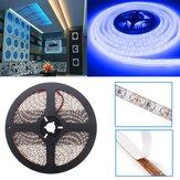 Blu 5m impermeabile 3528 LED SMD 600 luci di striscia flessibile luce dc 12v