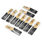 10pcs Traditional Bb Clarinet Reeds Saxophone Reeds Bb 2.5 Strength 2 1/2