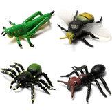 Simulation de mini insectes décorations micro paysage jardin décoration bricolage