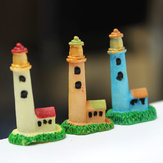 Mini Resin Vuurtoren Micro Landschap Decoraties Tuin DIY Decor