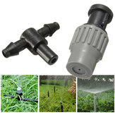 Garden Adjustable Micro Spray Nozzle Misting Atomizing Cooling Sprinkler