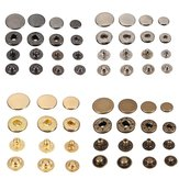 15 sztuk Snap Fasteners Popper Press Stud Sewing Leather Button
