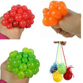 Squeeze Hand Wrist Exercise Stress Relief Toy Grape Shape