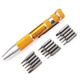 15 In 1 Precision Screwdriver Bits Set For Jewelry Watch With Watch Repair Tool