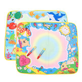 Baby Children Water Painting Mat Board Bear Doodle Toy Pen