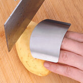 Stal nierdzewna Finger Guard Safe Protector Chop Helper