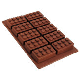 Brick Pattern Silicone Ice Cube Jelly Tray Maker Chocolade Mould
