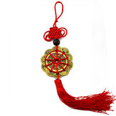 Lucky Ancient Coins Prosperity Protection Feng Shui Mascot Crafts