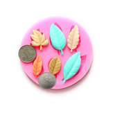 DIY Leaves Chocolade Schimmel Resin Flower Fondant Cake Decorating Mold