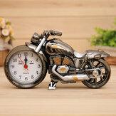 Alarme de moto décorative 3D à la maison en plastique Cool Clock Clock cadeau couleur aléatoire