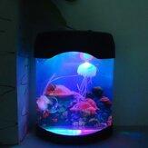 Aquarium Simulatie Kwallen Achtergrond Lamp Nachtlicht