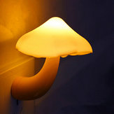 Mini Mushroom Wall Light Night Light Control Bedroom lampada