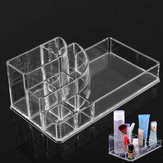 Klar Akryl Makeup Kosmetisk Box Organizer Display Storage Case