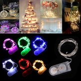 2M 20 LED Battery Operated Fairy Lights Christmas Wedding Decoration