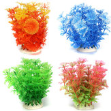 Aquarium Multicolor Artificial Plastic Water Plant Grass Decoration