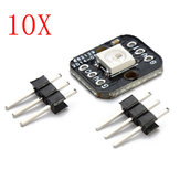 10Pcs One Bit WS2812B Serial 5050 Full Color LED Module Geekcreit for Arduino - products that work with official Arduino boards