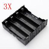 3 قطع E1A1 عبس بطارية مربع حامل ل 4 x 18650