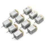 10 piezas 3V-6V 8000RPM Micro DC 130 motor