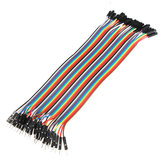 40pcs 20cm Male To Female Jumper Cable Dupont Wire