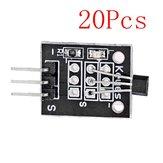 Μονάδα μαγνητικού αισθητήρα Hall 20Pcs DC 5V KY-003 Geekcreit για Arduino - προϊόντα που λειτουργούν με επίσημες πλακέτες Arduino