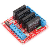 Four way Solid State Relay Module Geekcreit for Arduino - products that work with official Arduino boards