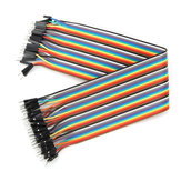 40pcs 30cm Male To Male Jumper Cable Dupont Wire