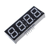 5Pcs 7-Segment 0.56 Inch 4 Digit 12 Pins Red LED Display Module