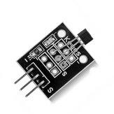 5Pcs DC 5V KY-003 Module de capteur magnétique à effet Hall Geekcreit pour Arduino - produits compatibles avec les cartes Arduino officielles