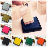 DIY Cube Sponge Ink Pad voor Rubber Stamp Scrapbook Photo Album