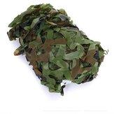 Rede de camuflagem de camuflagem 2X1.5m para acampar Fotografia Militar
