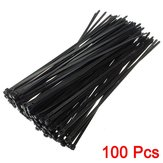 100Pcs 8inch Wire Cable Zip Ties Nylon Wrap 40 LBS Tensile Strap