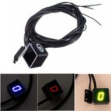 Universele Motorcycle LED Display Digitale Indicator Shift Level Sensor