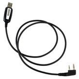 Original 2 Pins USB Programming Cable for BAOFENG Walkie Talkie