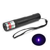 XANESPL02LT-850405nmMenekşeMor Işık Lazer Işaretçi Feneri 1 * 16340 1mw