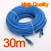30M 100 FT RJ45 CAT5 CAT5E Ethernet LAN Сетевой кабель