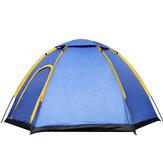 Outdoor 3-4 Persone Campeggio Tenda Parasole Istantaneo Impermeabile UV Parasole Grande Per Famiglia