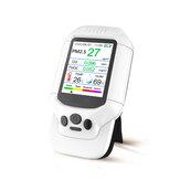 PM2.5 O3 Ozon Dedektörü TVOC Hava Kalitesi Test USB Enstrüman 2.8 LCD Ekran Karbon Dioksit Formaldehit Toz Pus Metre