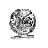 ZANLURE 1: 1 Fly Fishing Reel Aluminum Alloy Full Metal Casting Left/Right Hand Interchange CNC Hand Rod Ice Fishing Wheel