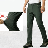 Outdoor Soft Shell Plush Cashmere Windproof Climbing Pants