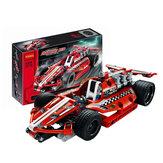 DECOOL 3412 Technic Racing Авто 158PCS Строительные блоки Наборы игрушек для детей Модель игрушки