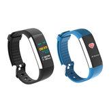 Bakeey K6 Ricarica USB da 0,96 pollici IPS Colore Cuore Monitoraggio della pressione sanguigna del tempo Orologio intelligente Display