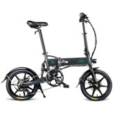 [US Direct] FIIDO D2S Shifting Version 36V 7.8Ah 250W 16 Inches Folding Moped Bicycle 25km/h Max 50KM Mileage Electric Bike US Plug