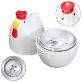 घर चिकन आकार का माइक्रोवेव 1 अंडे बॉयलर स्टीमर कुकर रसोई पाक कला गैजेट उपकरण अंडे कुकर पाक कला उपक