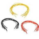10 Uds Cable AWG30 de Silicona de 15cm DIY Cable Señal Flexible para Herramienta de RC Modelo Piezas DIY