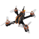 Eachine Tyro79 140mm version bricolage 3 pouces FPV Racing Drone F4 OSD 20A BLHeli_S 40CH 200mW 700TVL